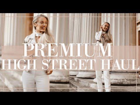 PREMIUM HIGHSTREET HAUL // Spring 2018 // Fashion Mumblr