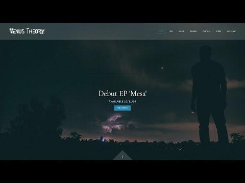 Musician Website Theme: Encore Mp3