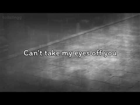 aiivawn - can't take my eyes off you (lofi edit) ft. Craymer (Lyric Video)