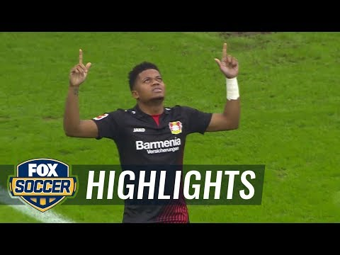Hamburger SV vs. Bayer Leverkusen | 2017-18 Bundesliga Highlights