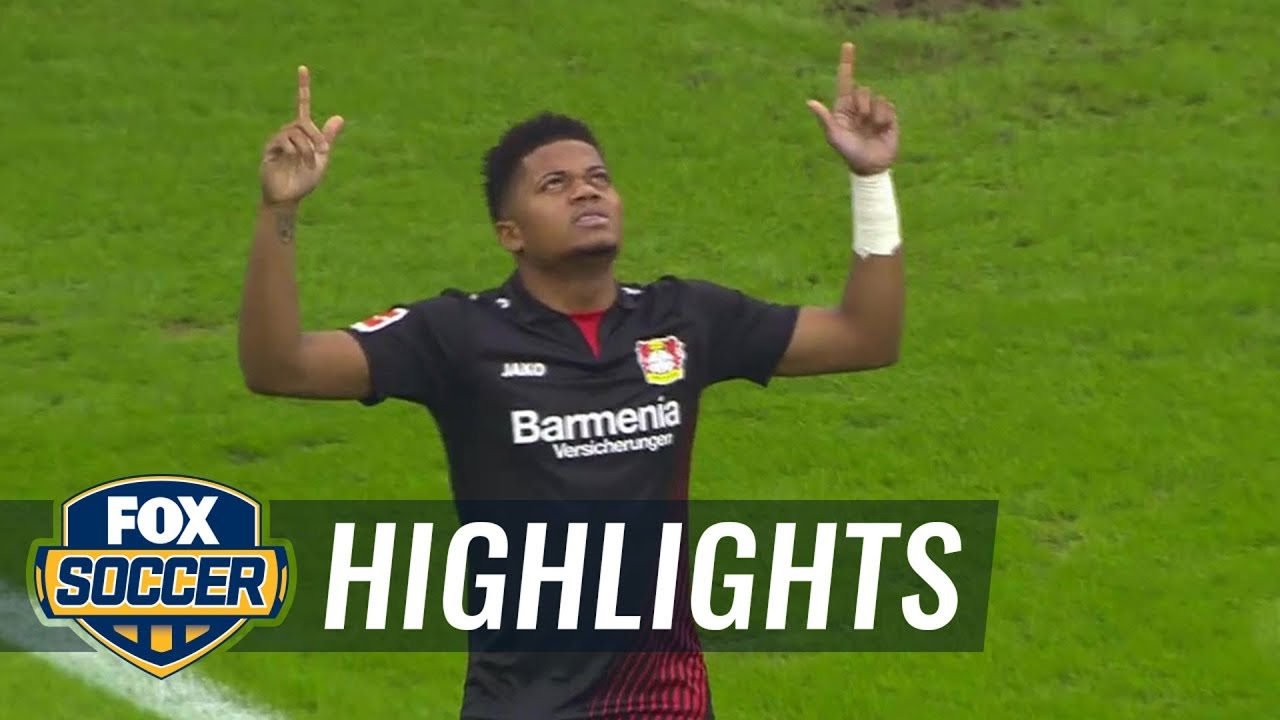 hsv leverkusen highlights