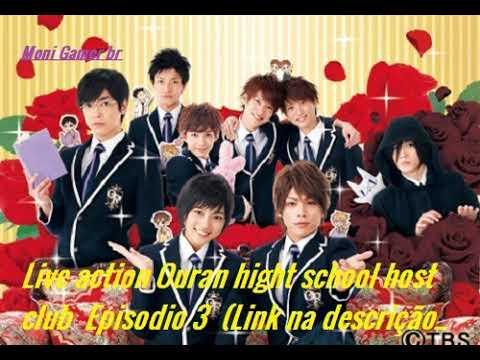 Live Action Ouran High School Host Club Episodio 3 Legendado Portugues