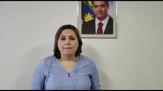 Presidente da EPTI, Marília Bezerra, explica o processo de pré cadastramento