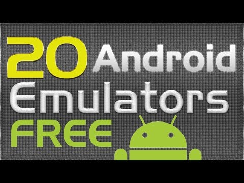 20 FREE Android Emulators For PC [WITH LINKS IN DESCRIPTION]