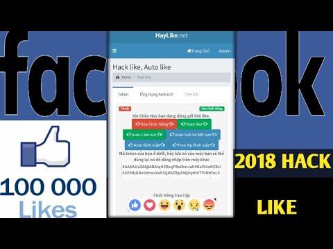 phần mềm hack like facebook trên điện thoại - Cách Hack LIKE Facebook trên ĐIỆN THOẠI - Dễ Thực hiện nhất 2018