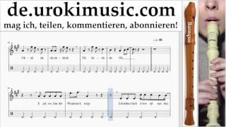 Blockflötenunterricht B. Mo-Torres, Cat Ballou & Lukas Podolski - Liebe deine Stadt Noten Lernen