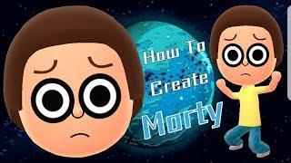 Mii Maker: كيفية إنشاء مورتي!