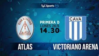 Primera D: Atlas vs. Victoriano Arenas l #PrimeraDenTyC