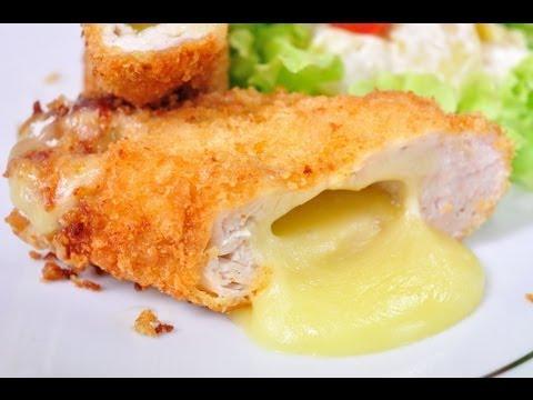 สเต็กไก่ห่อชีส Chicken Steak Stuffed with Cheese