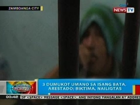 BP: 3 dumukot umano sa isang bata sa Zamboanga City, arestado; biktima, nailigtas