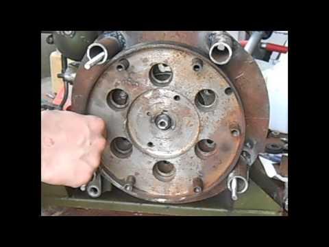 Как установить КПП на двигатель УД 15 (Вариант первый)
