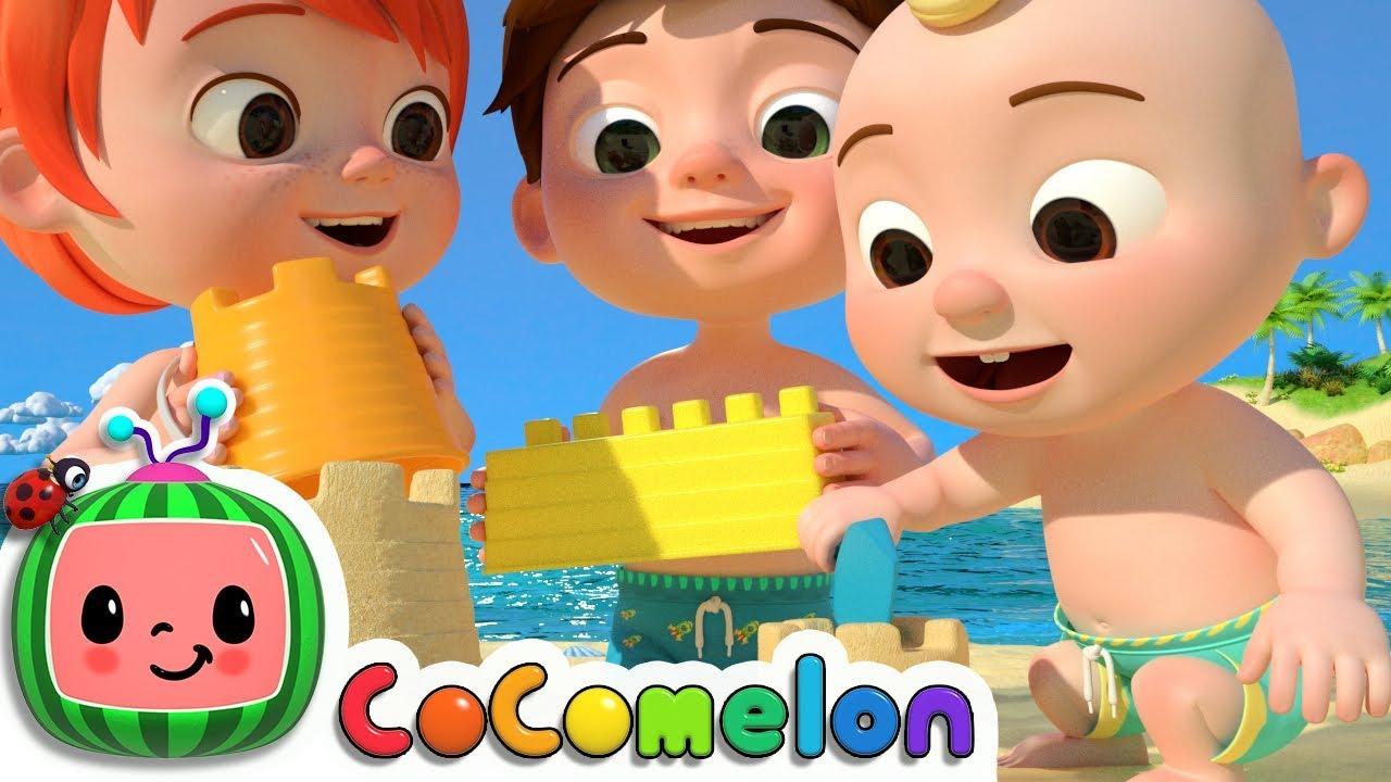 Beach Song | CoCoMelon Nursery Rhymes & Kids Songs