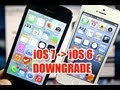 How To Downgrade iOS 7 To 6.1.3 & 6.1.4 - iPhone, iPod ...