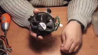 видео установка кулера на процессор