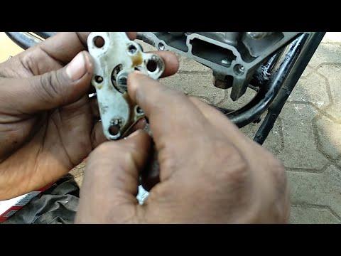 Hero Honda Splendor oil pump replace