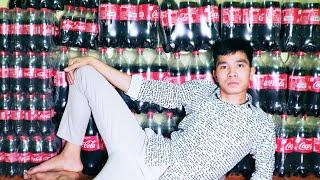 PHD | Thử Thách Cả Nhà Uống Hết 300 Lít Coca | Challenge of drinking 300 liters of coca in 1 month