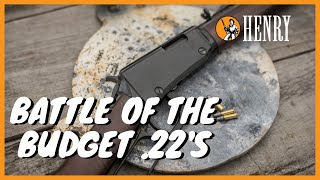 Battle of the Budget .22's - H001 vs H001T