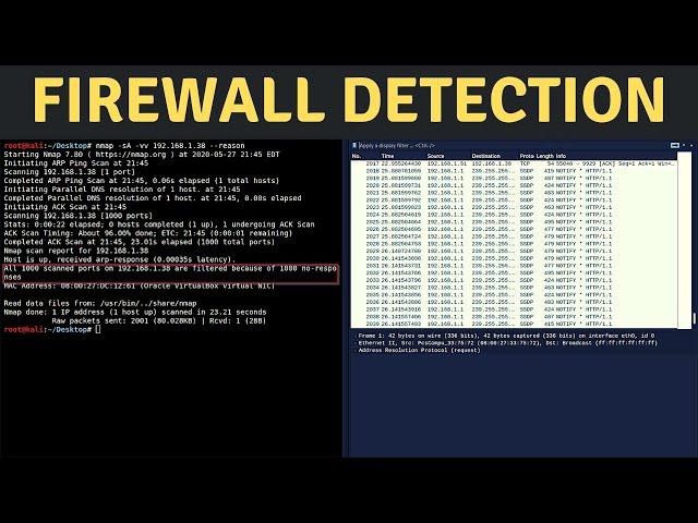Nmap - Firewall Detection (ACK Probing)