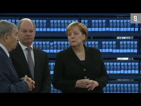Israelreise: Merkel besucht Yad Vashem