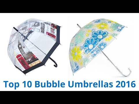 7c26d8662 Totes Luggage Bubble Umbrella, Clear