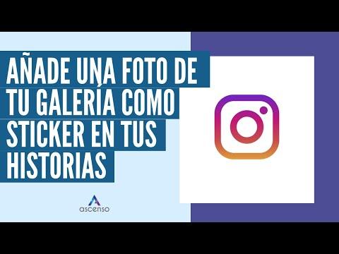 ¿Cómo poner una foto de tu galería como sticker en las historias de Instagram?