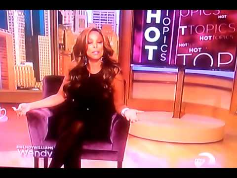 Wendy Williams Wig Malfunction