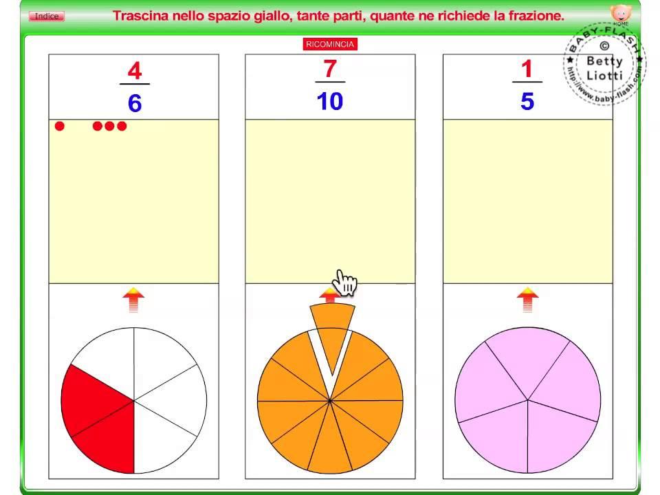 Matematica19 (le frazioni) - YouTube