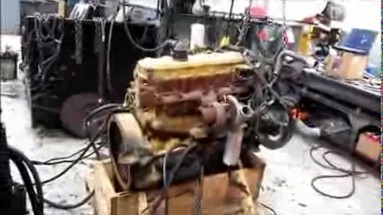 Caterpillarsel Engine Running