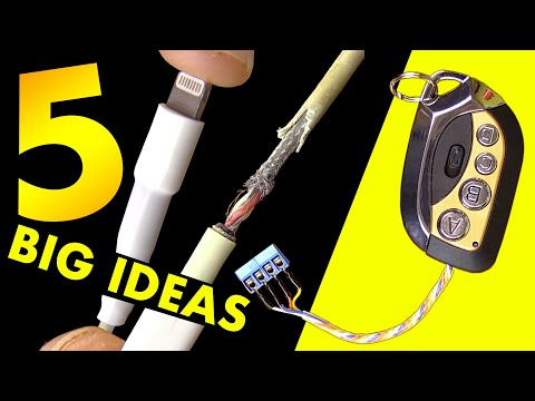 5 BIG IDEAS DIY very low cost