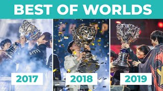 Best of Worlds 2017 - 2018 - 2019 | Get hyped for Worlds 2020