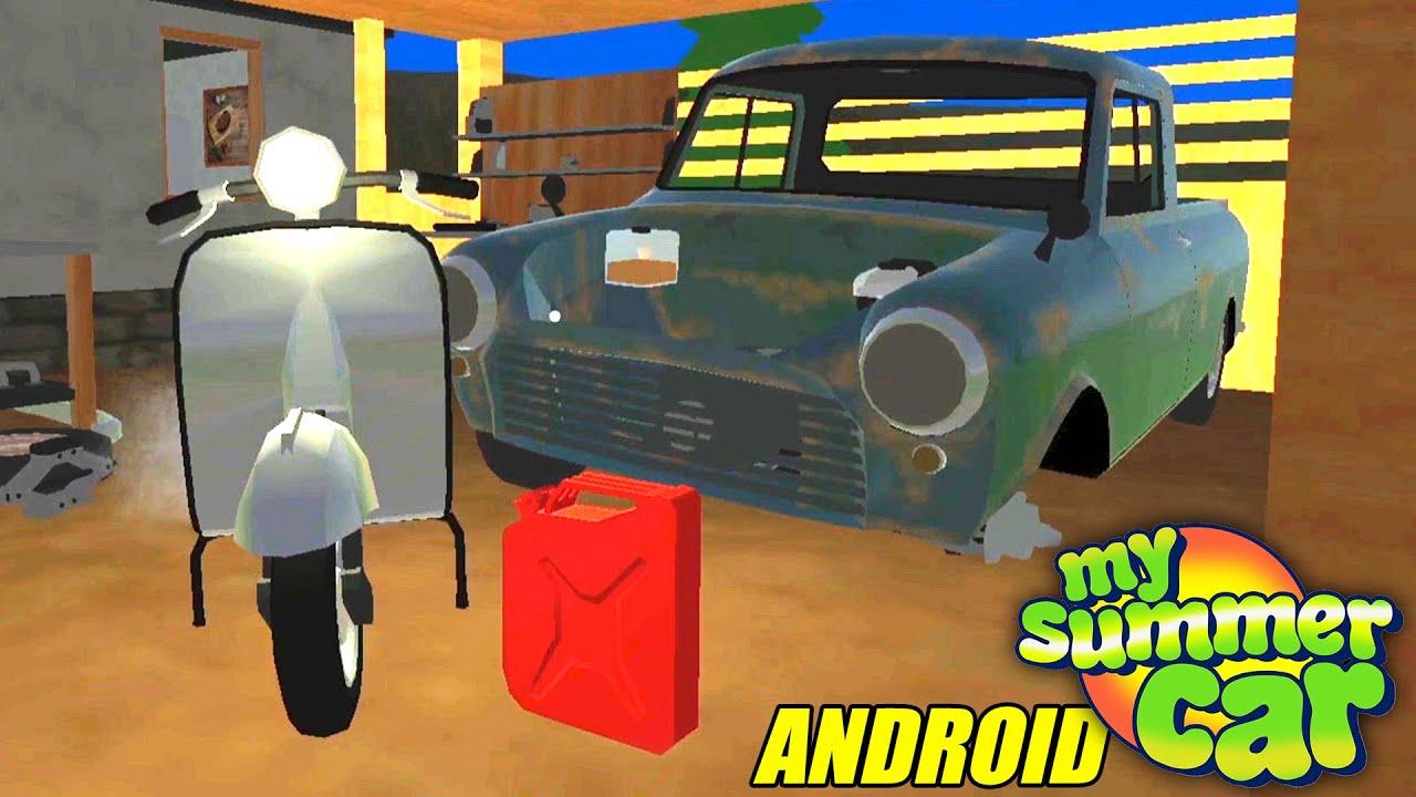 Explorando o Novo My Summer Car pra Android/iOS - PickUp #1