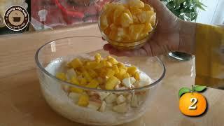 Healthy fruit chaat recipe-Creamy fruit salad recipe-Ramadan recipe-Fruit chaat ki recipe-