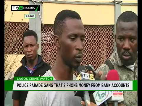 Digital Thieves: Bank ATM card Syndicate broken by the NPF Lagos command, Credit: TVC News