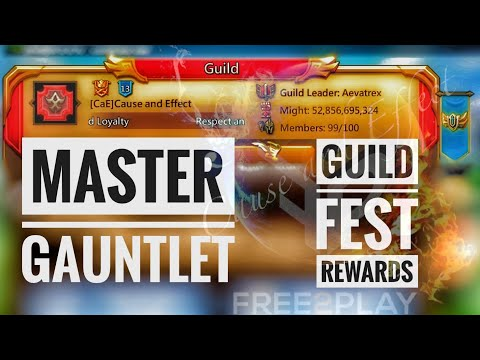 Lords Mobile - Master Gauntlet Guild Fest Rewards!