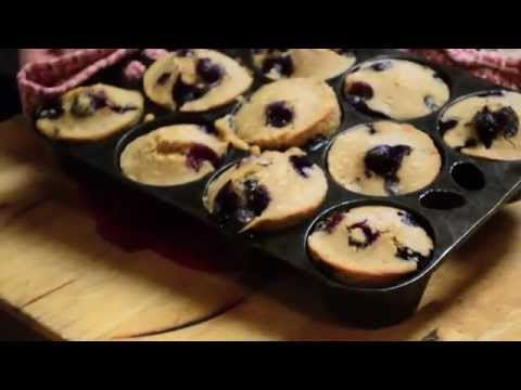 Blueberry Sorghum Muffins