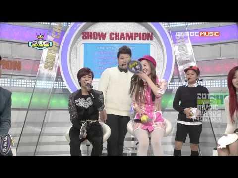 121211 Show Champion Block B Talk Cut 720