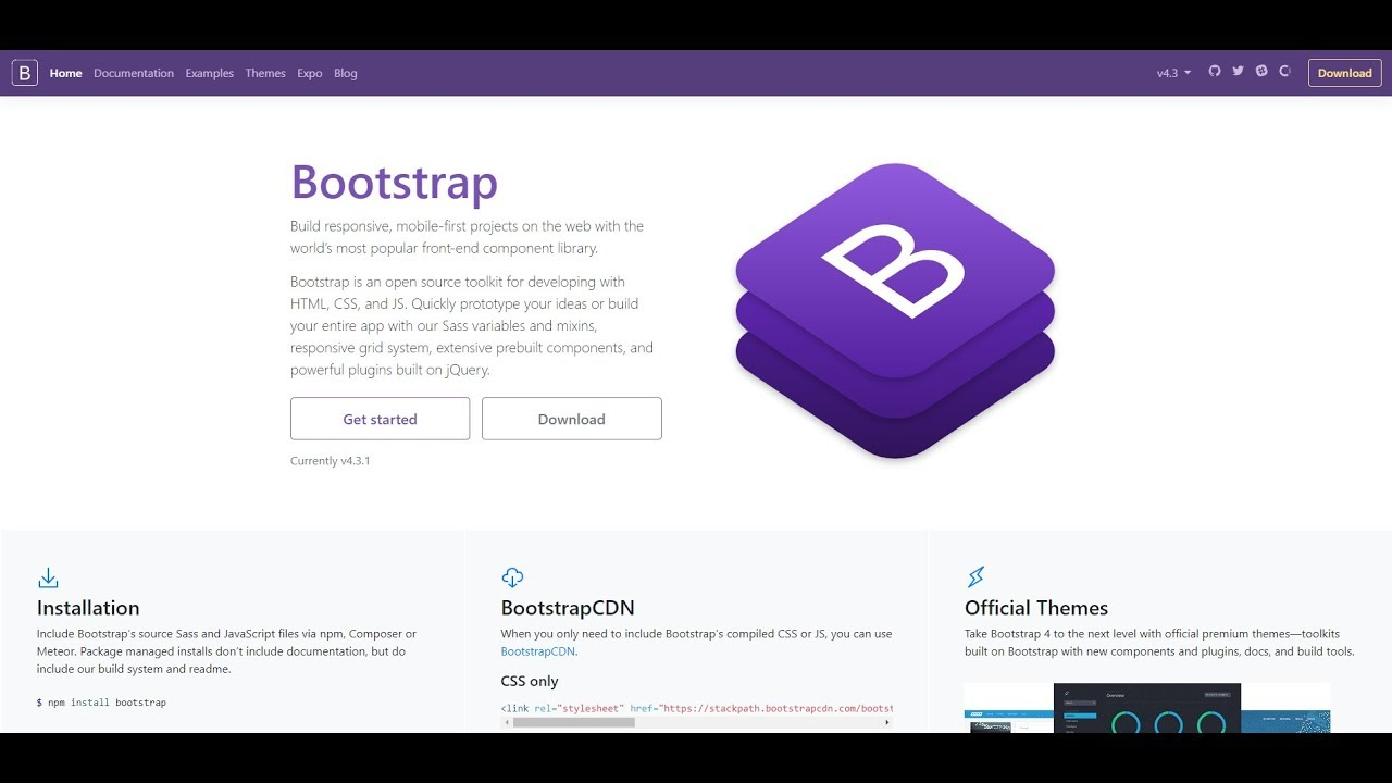 How To Install Bootstrap 4 On Windows 10 2019