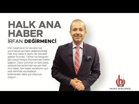 #CANLI   İrfan Değirmenci ile Halk Ana Haber   10 Haziran 2021   #HalkTV