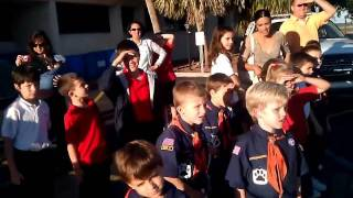Tiger Cubs Visit Airport Fire Station