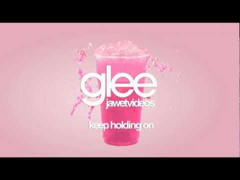Glee Cast - Keep Holding On (karaoke version)