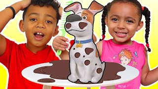Babysitting Puppy Dog Pet Toy   Pretend Play - Leah's Play Time