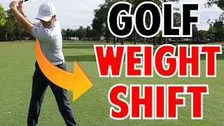 Golf Weight Shift in Crazy Detail