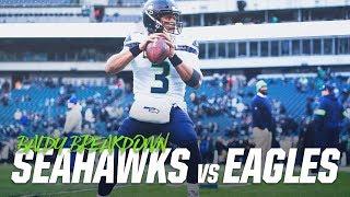 Analyzing Russell Wilson vs. Eagles   Baldy's Breakdown