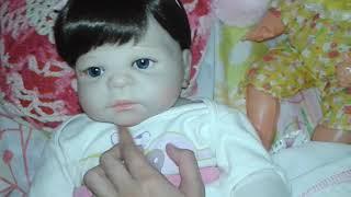 Rotina da manhã da minha bebê reborn Ana Luiza - Aventuras da Emilly