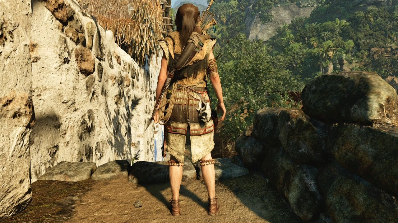Shadow Of The Tomb Raider Crimson Huntress Outfit Open World