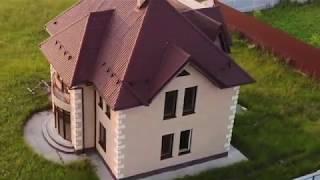 Дом в коттеджном поселке Рязанцы. Сергиево-Посадский район Московской области.