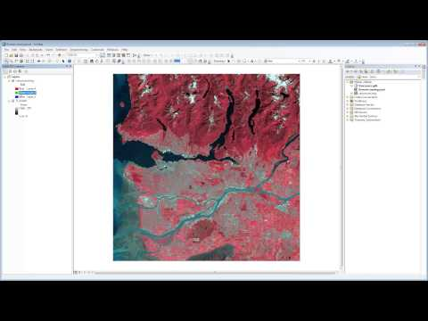 Satellite images in ArcMap - An Introduction