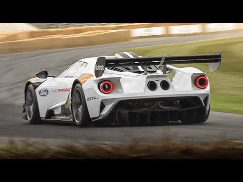 NEW Ford GT MkII Track-Only Car Sound - Accelerations, Start Up & Fly Bys!