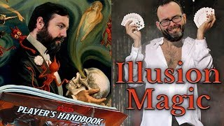 The Web DM Guide to the Illusion Magic School in 5e Dungeons & Dragons