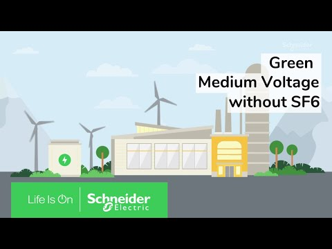 Green SF6-Free MV Switchgear Technology Explained | Schneider Electric